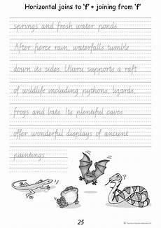 handwriting worksheets for year 4 21949 handwriting conventions teachers 4 teachers publications pty ltd