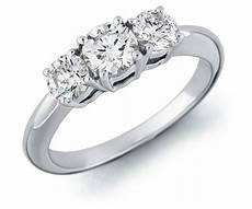 wedding band for 3 stone engagement ring
