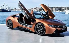 Download Wallpapers BMW I8 Roadster 2018 Sports Electric