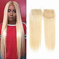 Amazon Com 3 Part Lace Closure Straight With Amazon Com 613 Hair With Closure Transparent Lace