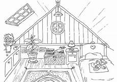 Ausmalbilder Playmobil Wohnzimmer Free Coloring Pages Febbraio Tema Room House Baba