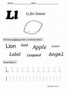 printable letter l worksheets for preschool 23205 free printable letter l preschool worksheet