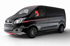 ford transit custom black edition 2017