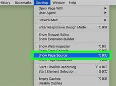 3 ways to view source code wikihow