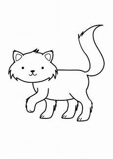 Katze Malvorlage Zum Ausdrucken Kostenlose Malvorlage Katzen Katze Ausmalen Zum Ausmalen