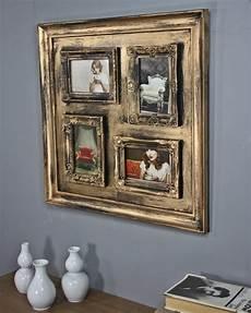 bilder mit bilderrahmen bilderrahmen collage kunststoff gold