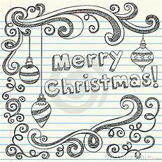 merry christmas drawn sketchy doodles royalty free stock image 22252977