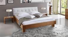 Bett Mit Kopfteil - massivholzbett aus eiche mit wei 223 em kopfteil faro
