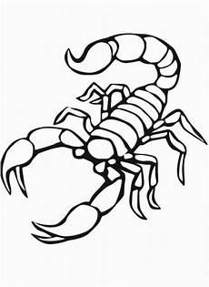 Malvorlagen Kostenlos Herunterladen Malvorlagen Des Skorpions Ausmalbilder Malvorlagen