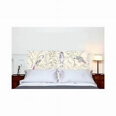 tete de lit mademoiselle tiss t 234 te de lit en tissu quot perroquets quot avenue
