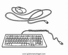 Malvorlagen Pc Computer Pc 02 Gratis Malvorlage In Computer Diverse