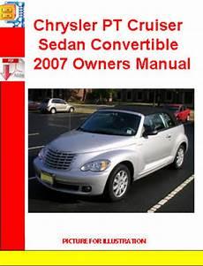 auto manual repair 2007 chrysler pt cruiser regenerative braking chrysler pt cruiser sedan convertible 2007 owners manual download