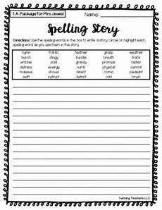 writing worksheets for grade 5 22952 5th grade journeys spelling writing activity lessons 1 30 tpt