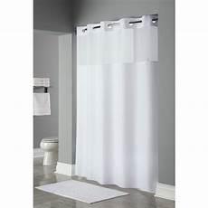 hookless mystery shower curtain hookless 174 mystery polyester shower curtain 71x77 white 12