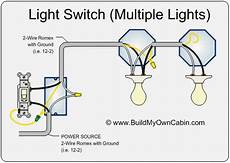 electrical wiring diagram from a wall switch to two light fixtures home improvement stack