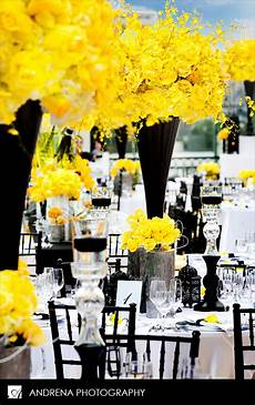 wedding ideas with yellow black and white real wedding decor sangya shawn