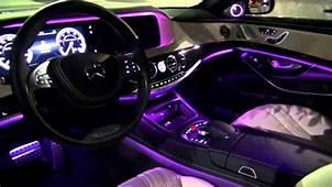 2014 Mercedes Benz S63 AMG Amazing Interior Lighting