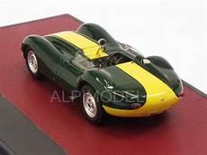 lister jaguar 1 43 matrix models mx41001 021 lister jaguar 1958 green yellow