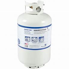 réservoir gaz propane bonbonne de propane opd 30 lb propane butane canac