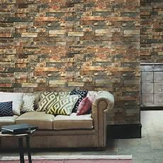 Faux Brick Peel Stick Wallpaper Grey Stacked