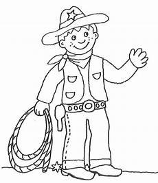 kostenlose malvorlage cowboys indianer cowboy mit lasso