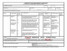 34 composite risk management worksheet exle worksheet resource plans