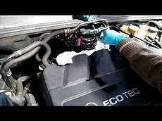 disassembly diesel filter change in opel vauxhall vectra