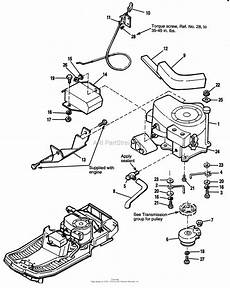 simplicity 1692518 412h 12 5hp hydro and 30 quot mower deck parts diagram for engine group