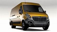 Opel Movano L4h2 2016 3d Model Buy Opel Movano L4h2