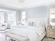 soft light blue master bedroom with blue pillow touches in 2019 blue master bedroom blue