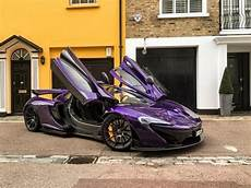 mclaren p1 purple purple carbon mclaren p1 startup acceleration and