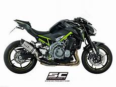 oval exhaust by sc project kawasaki z900 2018 k25 t25