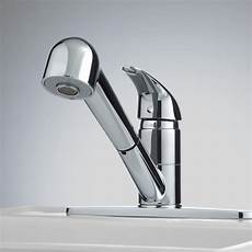 single lever pull out kitchen faucet signature hardware single lever pull out kitchen faucet ebay