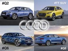 Futurs Suv Audi Q2 Q6 Q8 Tt Offroad Les In 233 Dits Sont
