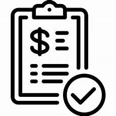 invoice free commerce icons