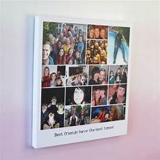 Personalised Vintage Polaroid Montage Canvas By Parkins