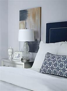 Bedroom Ideas Blue Headboard by Blue Velvet Headboard Contemporary Bedroom Ej Interiors