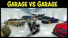 top 5 garage gta 5 garage vs garage ep 16 gold edition best