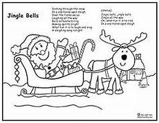 winter malvorlagen lyrics color the carol jingle bells weihnachten lieder