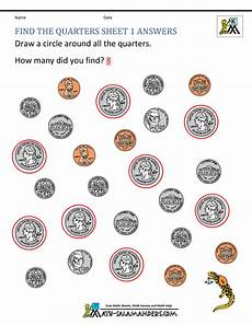 free printable money math worksheets for kindergarten 2686 kindergarten money worksheets 1st grade