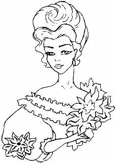 princess coloring pages princess flowers coloring pages
