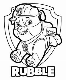 gratis malvorlagen paw patrol free paw patrol coloring pages free on clipartmag