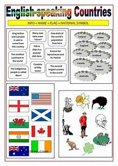 speaking countries free worksheets 18626 speaking countries matching activity material activities and