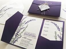 Wedding Invitations Lavender lavender wedding invitation sle purple pocketfold tags
