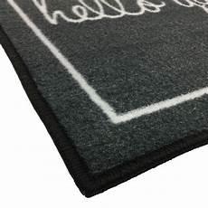 Grey Indoor Doormat by Grey Hello Gorgeous Welcome Novelty Door Mat