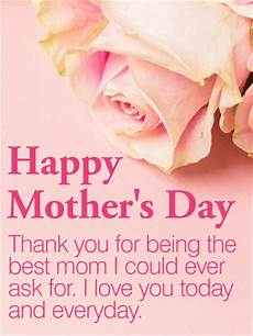 congratulations mum on having the best daughter ever to the best mom happy mother s day card birthday
