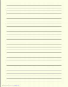 a4 size lined paper with wide black lines light yellow