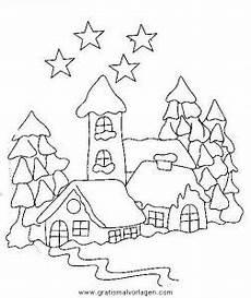 landschaften 33 gratis malvorlage in weihnachten
