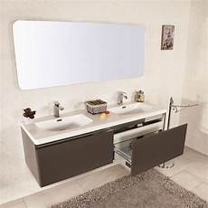 offerte mobile bagno con lavabo mobile bagno sospeso moderno 150 cm doppio lavabo