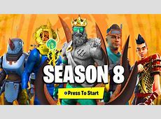 FORTNITE SEASON 8 BATTLE PASS   ALL DETAILS, REWARDS
